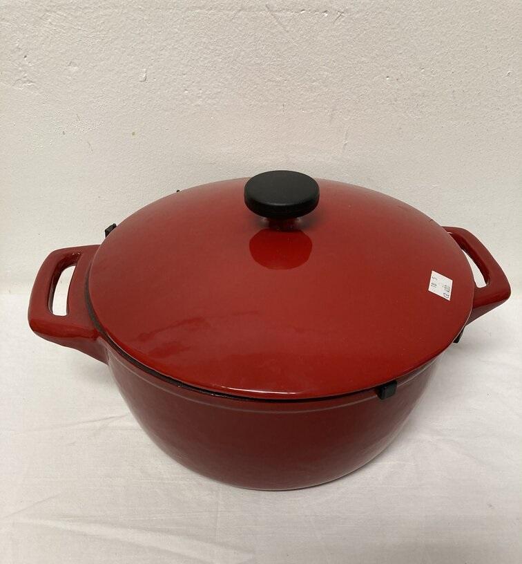 Kastrull Keramik Röd